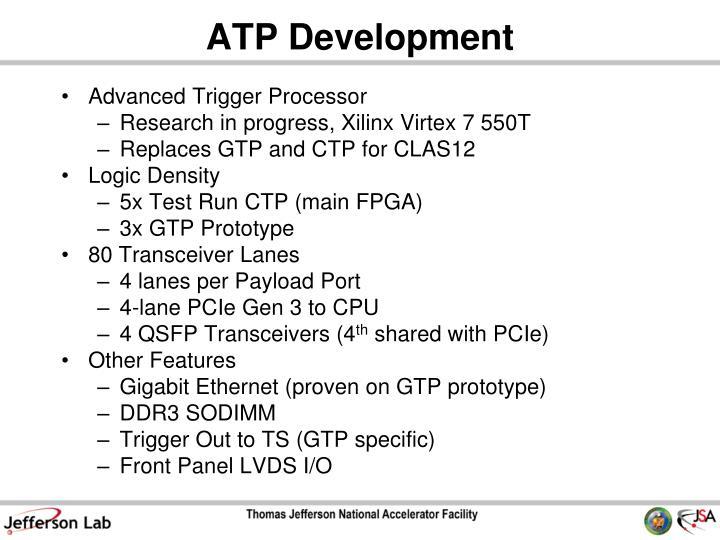 ATP Development
