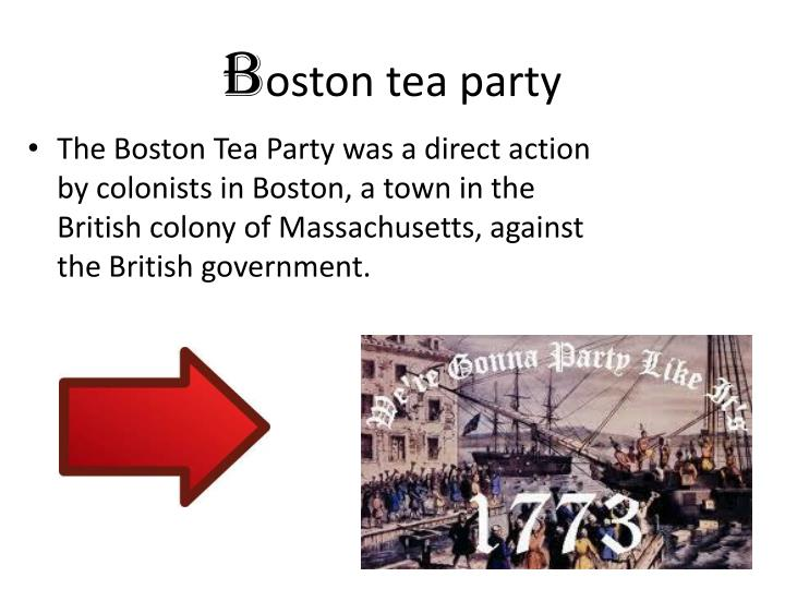 B oston tea party