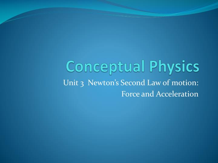 conceptual physics n.