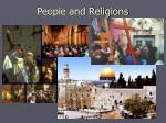 people and religions
