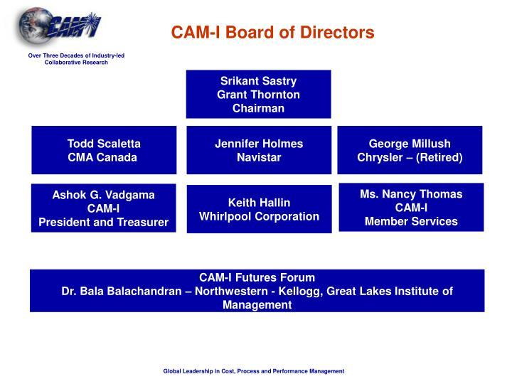 CAM-I Board of Directors
