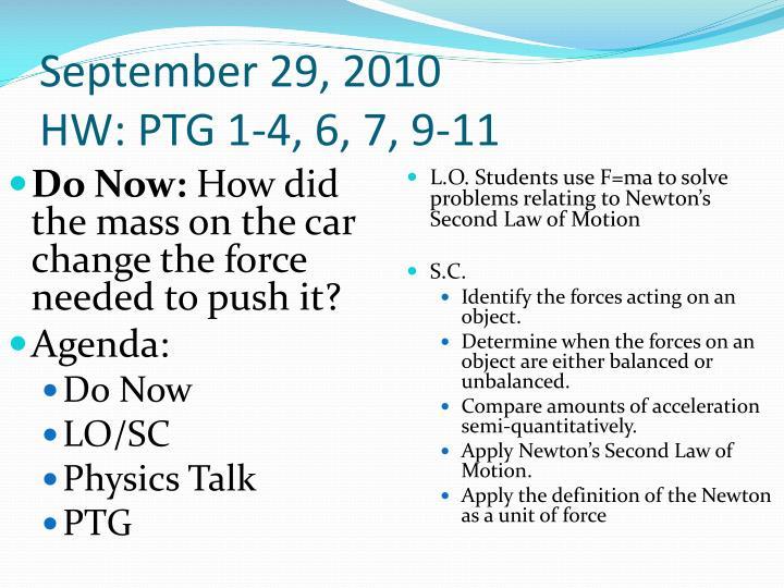 September 29, 2010