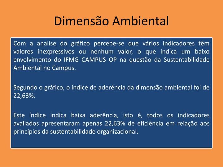 Dimensão Ambiental