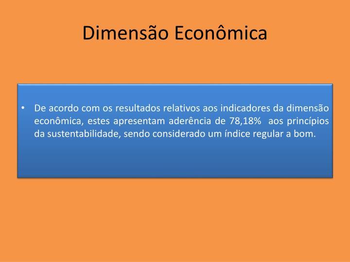 Dimensão Econômica