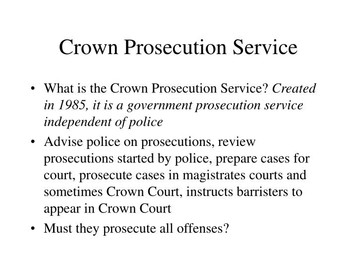 Crown Prosecution Service