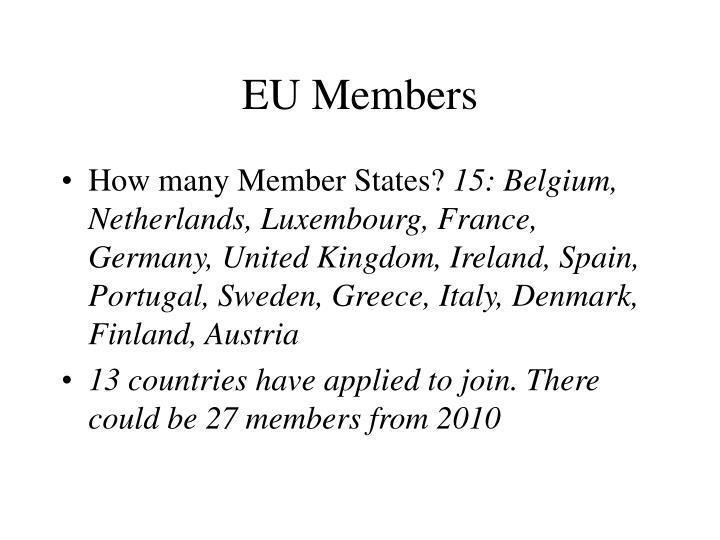 EU Members