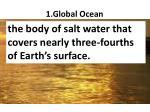 1 global ocean