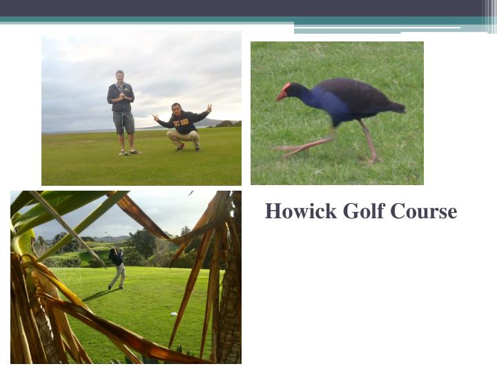 Howick Golf Course