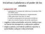 iniciativas ciudadanas y el poder de los estados