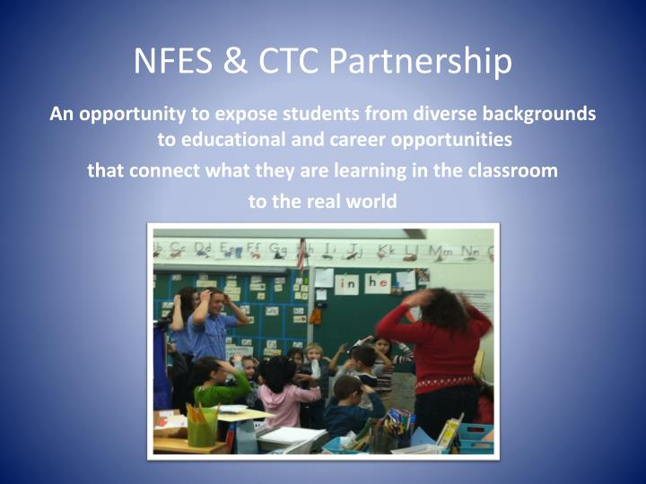 Nfes ctc partnership