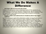 what we do makes a difference3