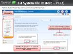 2 4 system file restore pc 3