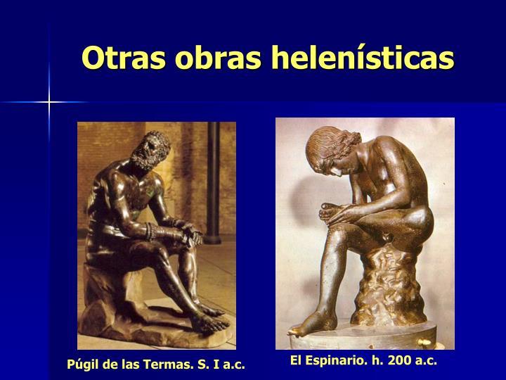 Otras obras helenísticas