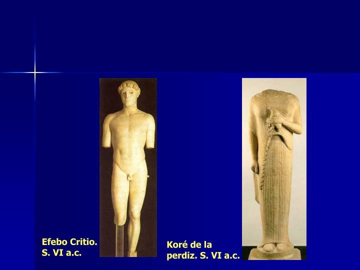 Efebo Critio. S. VI a.c.