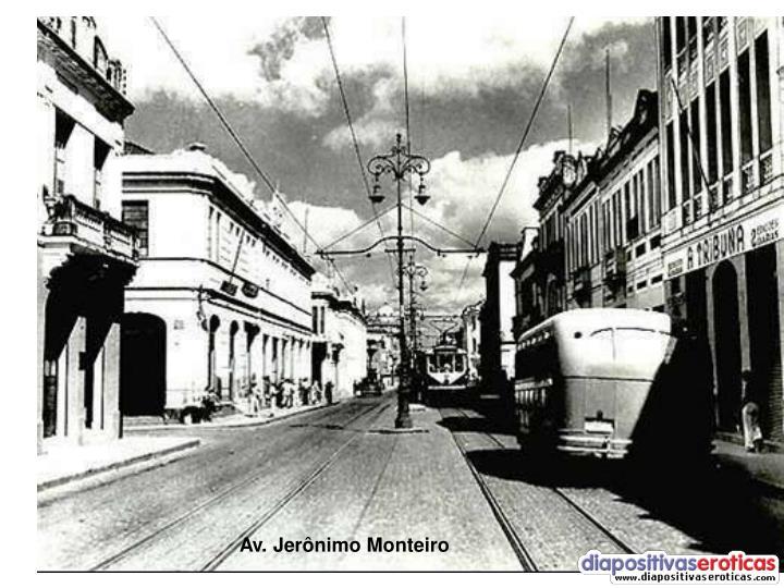 Av. Jerônimo Monteiro
