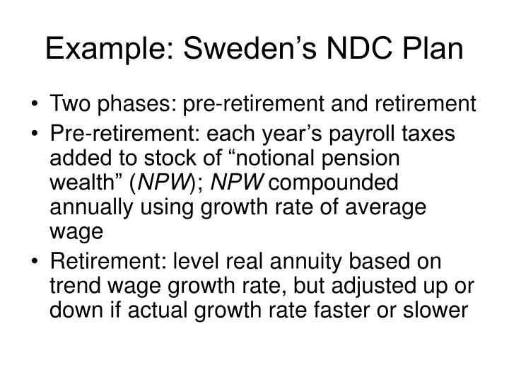 Example sweden s ndc plan