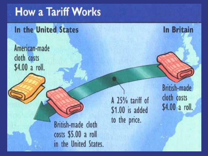 Tariff of abominations tariff of 1828
