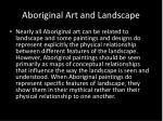 aboriginal art and landscape