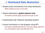 1 distributed state abstraction