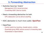 3 forwarding abstraction