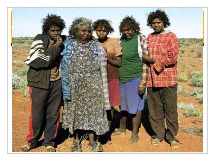 Aborigines people