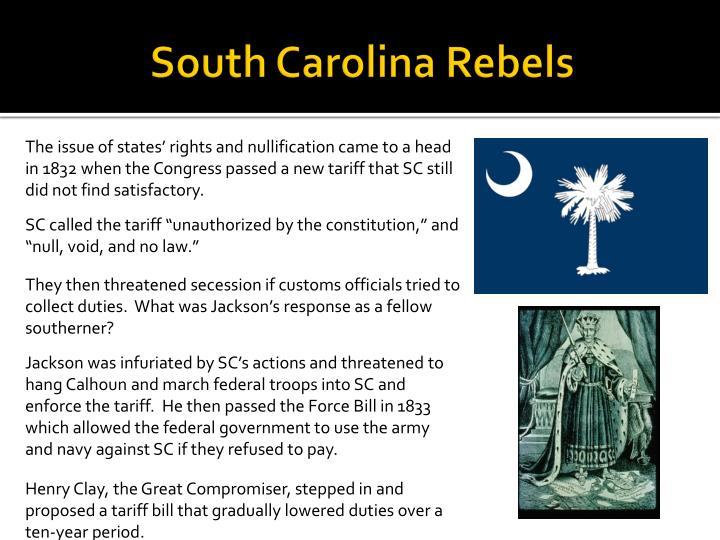 South Carolina Rebels