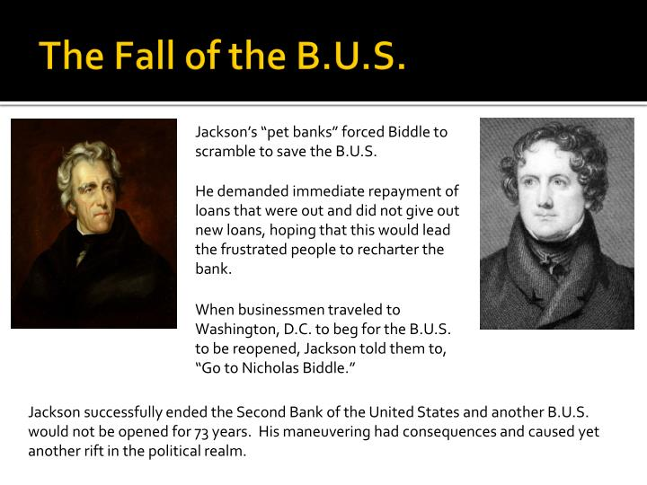 The Fall of the B.U.S.
