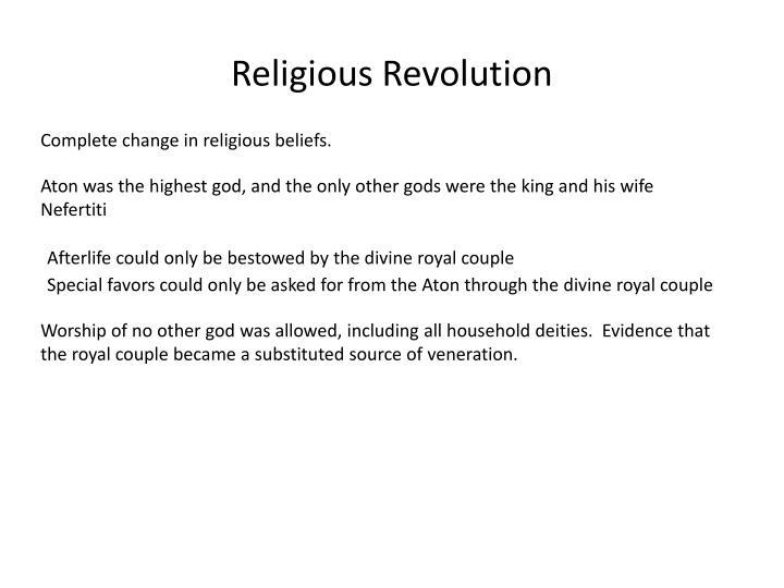 Religious Revolution
