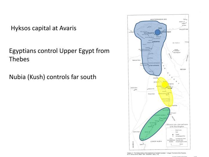 Hyksos capital at Avaris