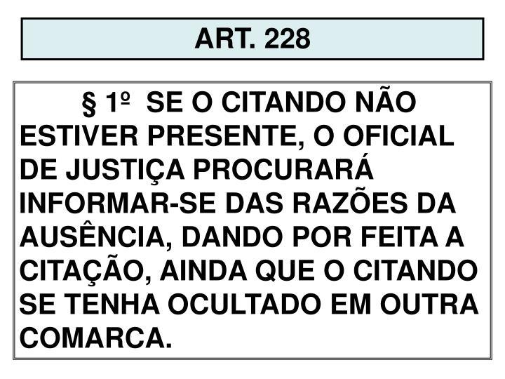 ART. 228