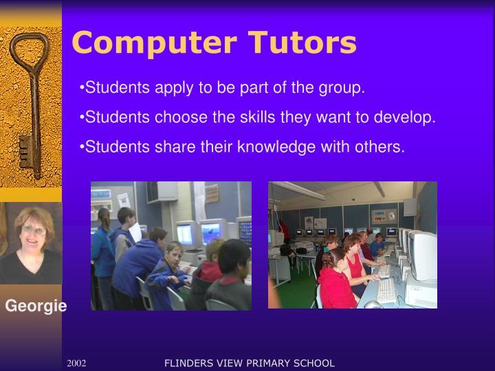Computer Tutors