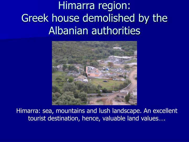 Himarra region: