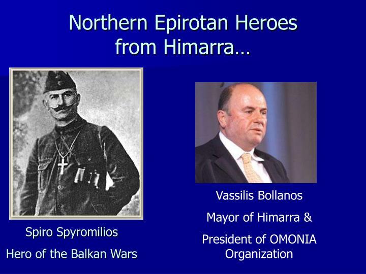 Northern Epirotan Heroes