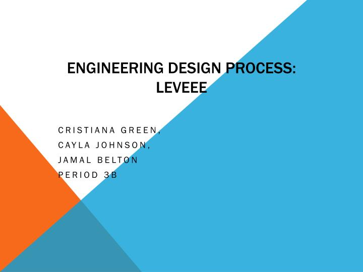 Engineering Design Process: