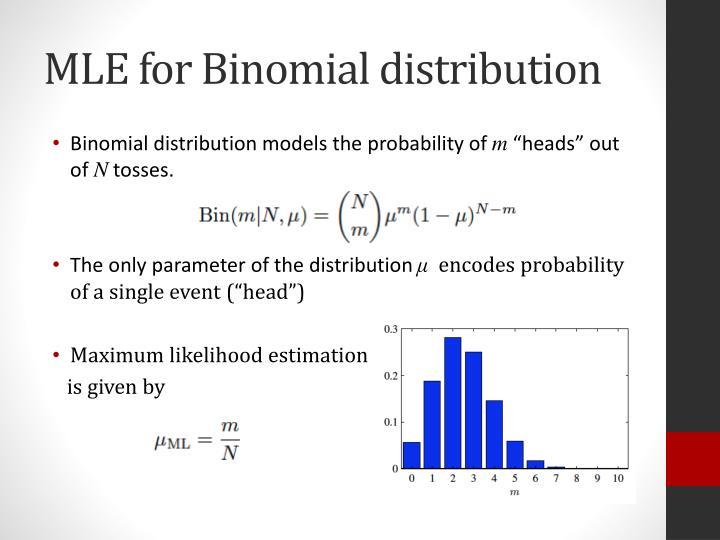 MLE for Binomial distribution