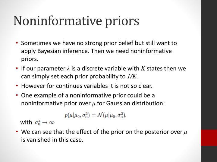 Noninformative