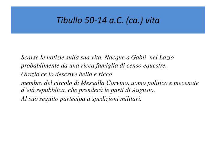 Tibullo
