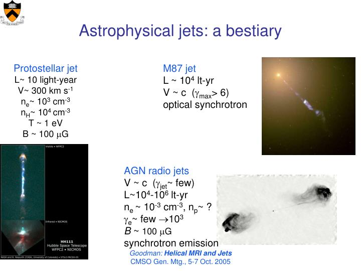 Astrophysical jets: a bestiary