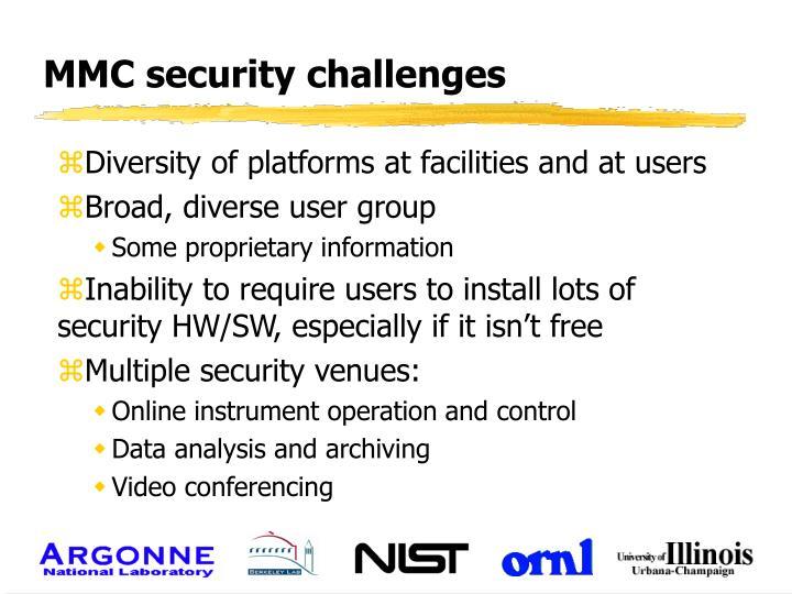 Mmc security challenges