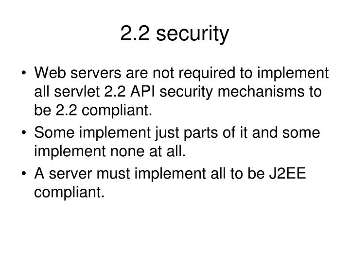 2.2 security