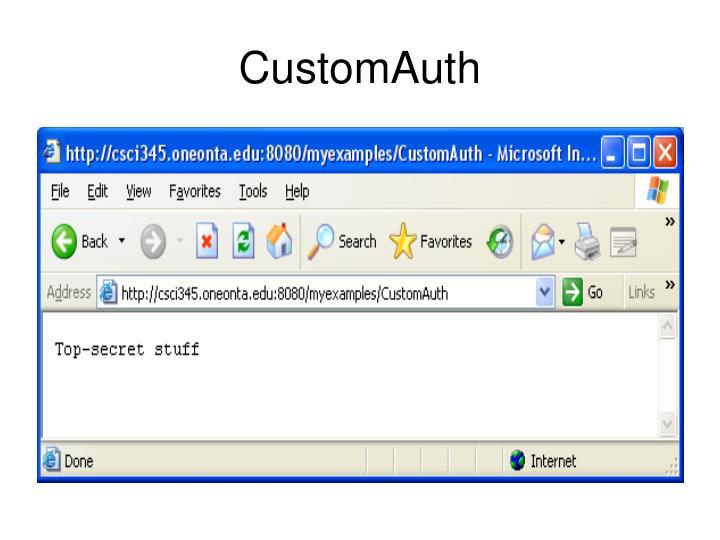 CustomAuth