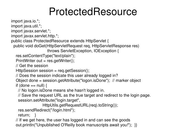 ProtectedResource