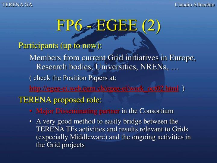 FP6 - EGEE (2)