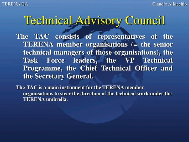Technical Advisory Council
