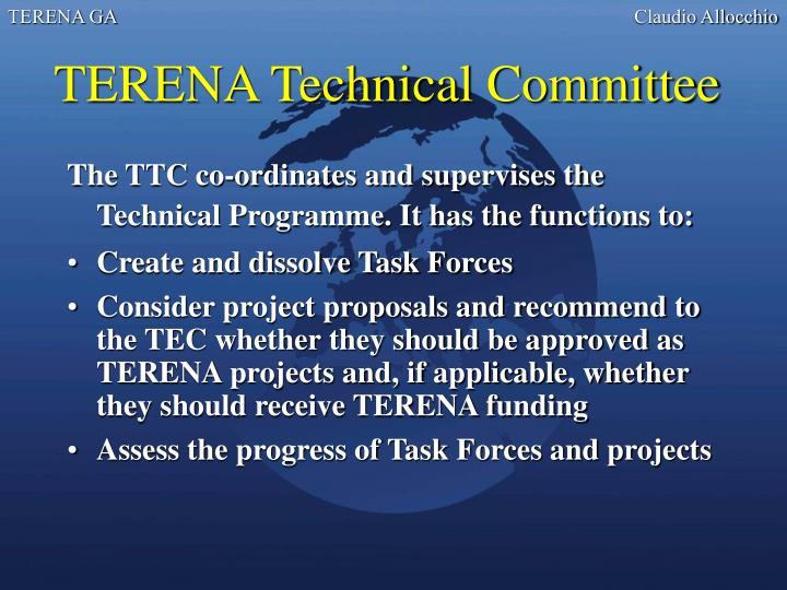 TERENA Technical Committee