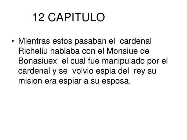 12 CAPITULO