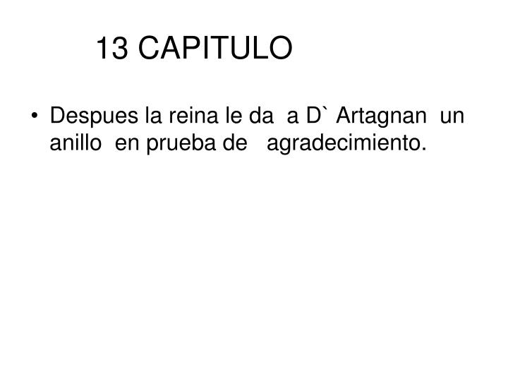 13 CAPITULO