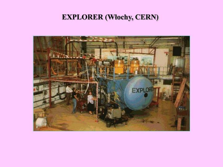 EXPLORER (Włochy, CERN)