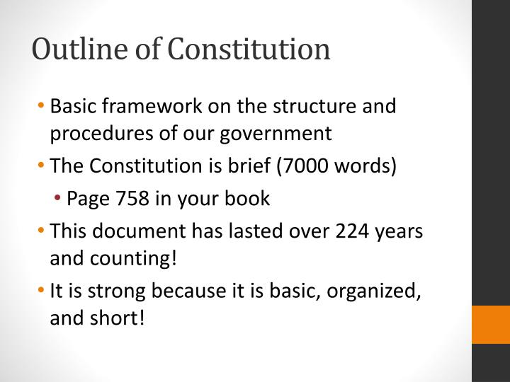 why has the american constitution lasted Constitution day is september 17th are you going to celebrate before you  dismiss the idea of celebrating a piece of paper that's almost 230 years old, you.
