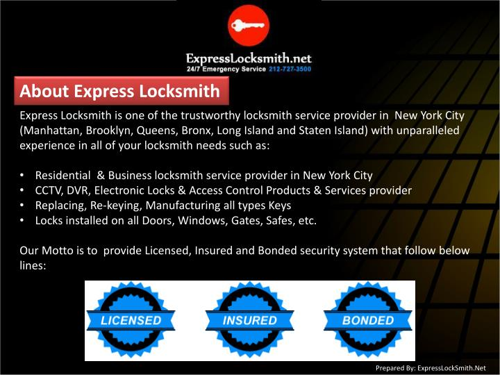 About Express Locksmith